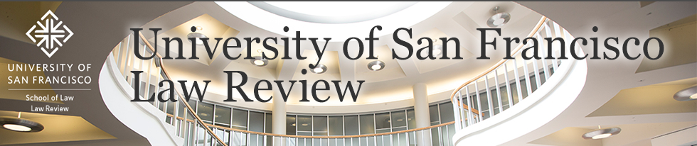 University of San Francisco Law Review