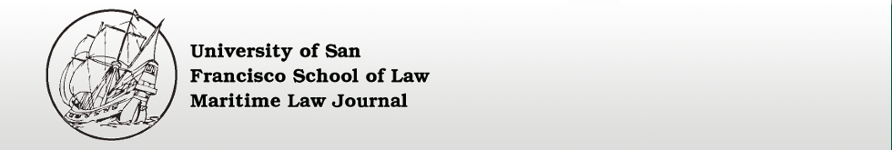University of San Francisco Maritime Law Journal