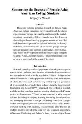 asian contributions essay This paper shows that, despite the enormous contributions made by asian-americans to american capitalism, us immigration policies did not grant citizenship status to asian-americans until later modifications to the us immigration acts of the 1960s.