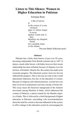 short essay on women education in pakistan Women education in pakistan  in short, women, which are 51 percent on the country's population,  a very nice essay.