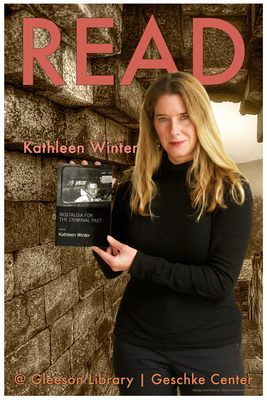 Read Poster Featuring Kathleen Winter