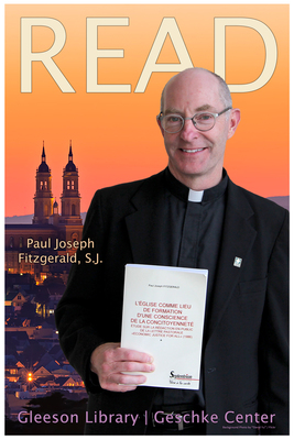 Read Poster Featuring Paul Joseph Fitzgerald, S.J.
