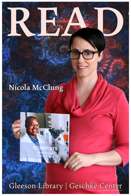 Read Poster Featuring Nicola McClung
