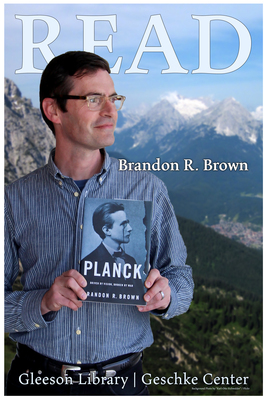Read Poster Featuring  Brandon R. Brown